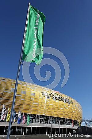 Euro 2012 new stadium Editorial Stock Photo