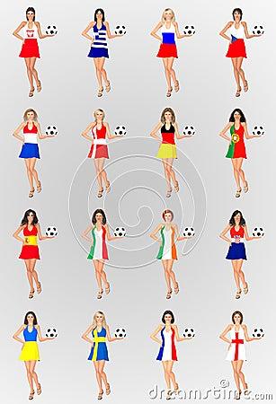 Euro 2012 Participant Countries
