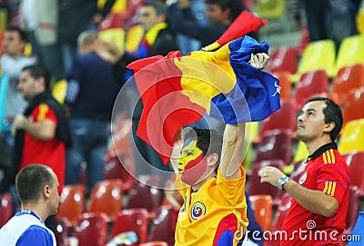 Euro 2012 Qualifying Round Romania-Belarus Editorial Image