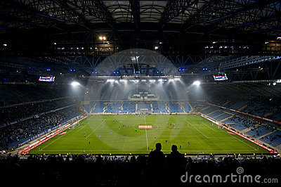 Euro 2012 stadium. Poznan, Poland Editorial Photography