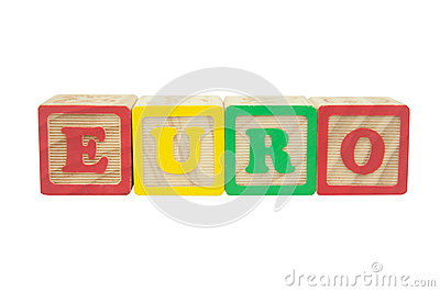 Euro Alphabet Blocks