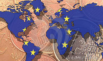 Euro als globales Bargeld