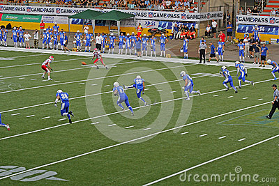 Euro 2013 american football championship Editorial Photo