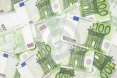Euro Background 100