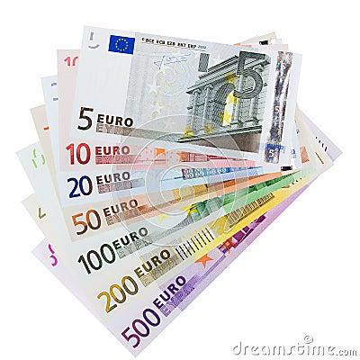 Free Euro Banknotes Stock Image - 3170441