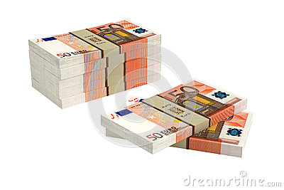 50 Euro banknotes