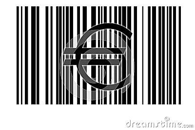 Euro and bar code