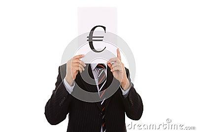 Euro businessman