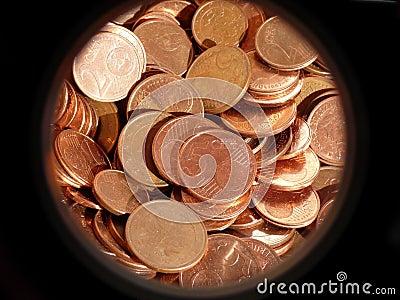 Euro- centavos