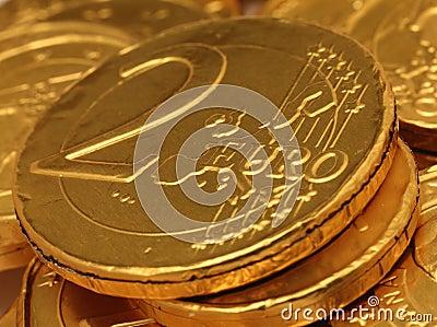 Euro Chocolate Coins