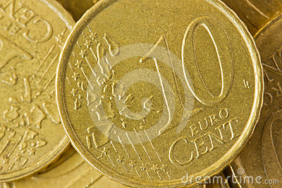 Euro Coin Stock Photos - Image: 24296603