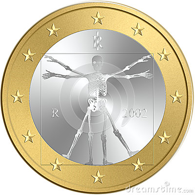 Free Euro Coin Stock Photo - 46152760