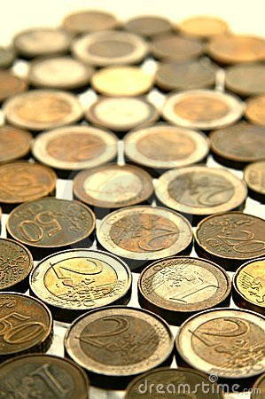 Free Euro Coins Royalty Free Stock Photography - 10343637