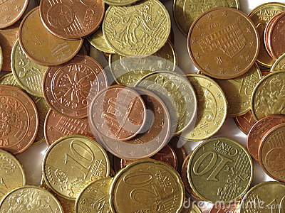 Euro Coins Stock Photos - Image: 27541873