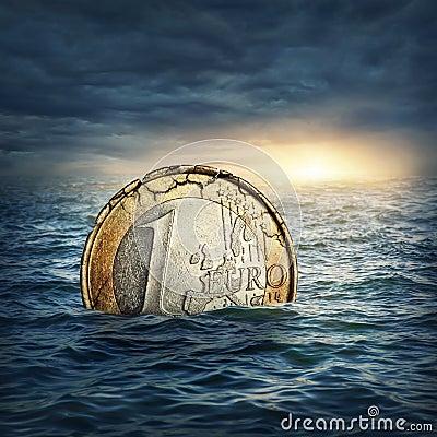 Free Euro Crisis Concept Stock Photos - 30021193