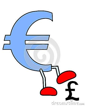 Euro crush Pound