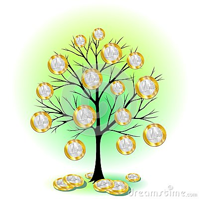 Euro Currency Tree