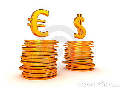 Euro Currency and US dollar equation