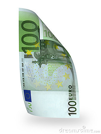 Euro del billete de banco 100