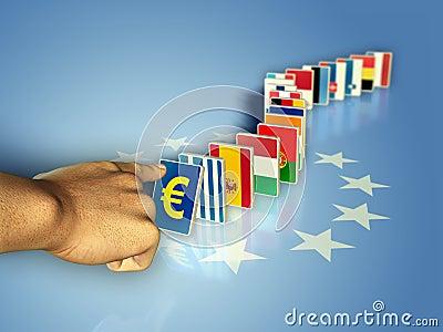 Euro domino