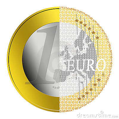 Free Euro E-payment Royalty Free Stock Photo - 10285795