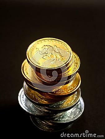 Euro för 10 mynt