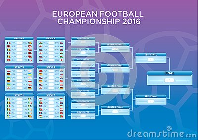 euro 2016 footbal match schedule template for web print. Black Bedroom Furniture Sets. Home Design Ideas