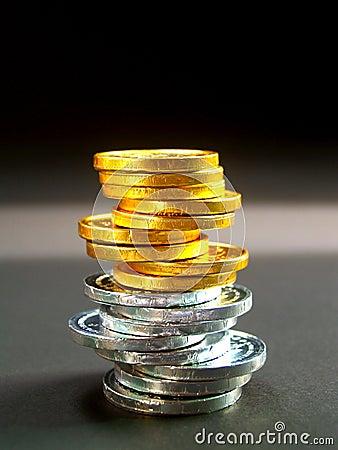 Euro för 11 mynt
