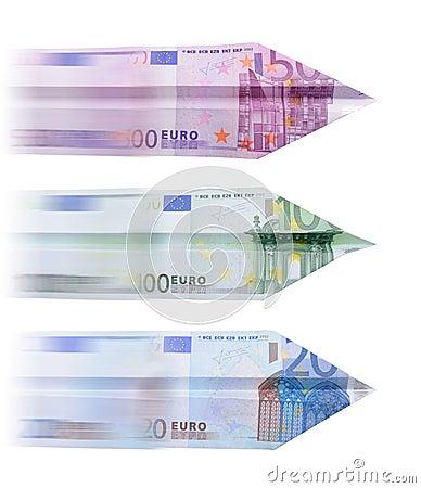 Euro för 500 flygplan