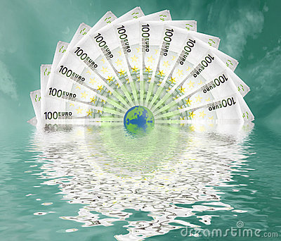 Euro grote wereld