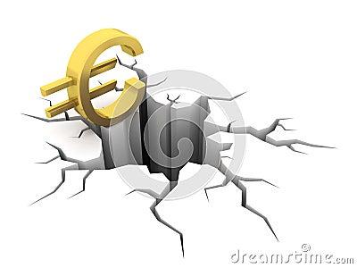 Euro and hole