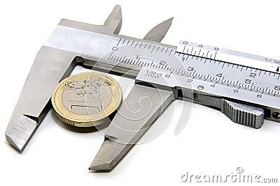 Euro jeden wartość