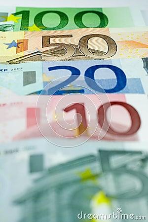 Euro Line-up - 50 Euros