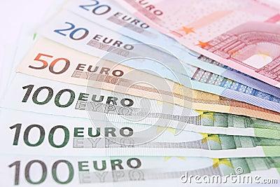 Euro money detail