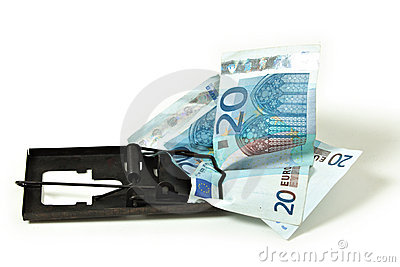 Euro money financial trap