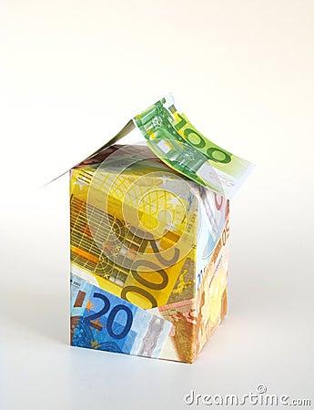 Euro money - house