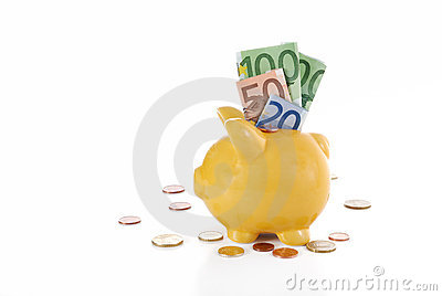Euro piggybank