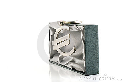 Euro- símbolo de moeda