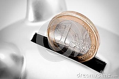 Euro savings concept