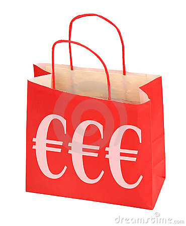 Euro shopping bag