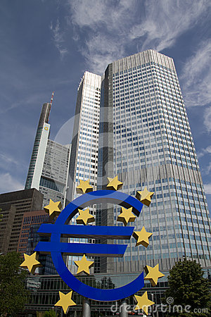 Euro Sign Editorial Stock Photo