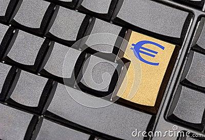 Euro sign key