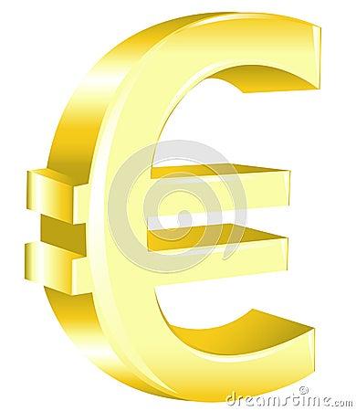 Euro Sign. Vector