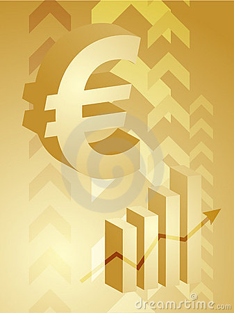 Euro success illustration