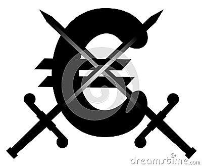 Euro swords emblem