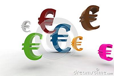 Euro symbols
