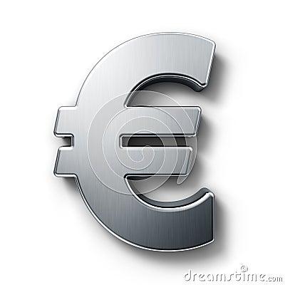Euro Teken Royalty-vrije Stock Foto's - Afbeelding: 5725768