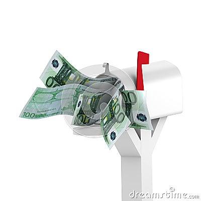 Euro to mailbox