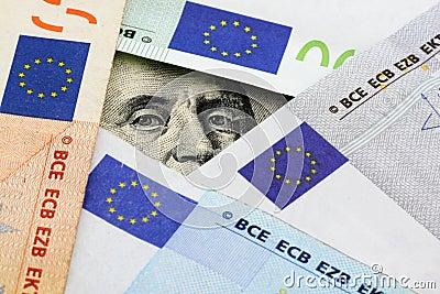 Euro vs dollars