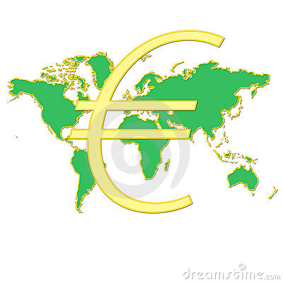 Euro in the world